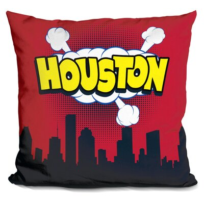 Houston Throw Pillow