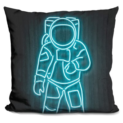 Astronaut Octavian Throw Pillow