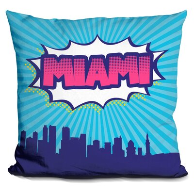 Miami Throw Pillow