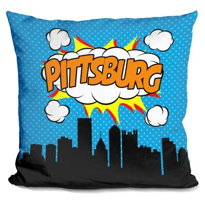 Pittsburg Throw Pillow