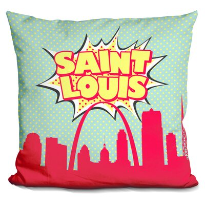 Saint Louis Throw Pillow