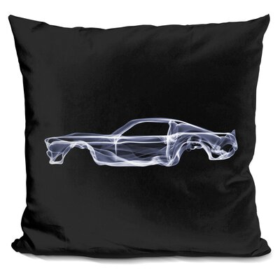 Ford Mustang Gtd Throw Pillow