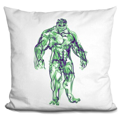 Hulk Throw Pillow