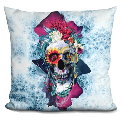 Catron Skull Throw Pillow