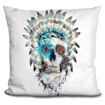 Mimento Mori Xi Throw Pillow