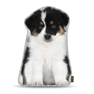 Manzella Australian Shepherd Throw Pillow