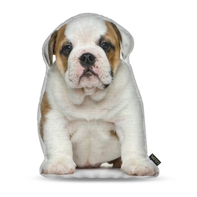 Manzella English Bulldog Throw Pillow