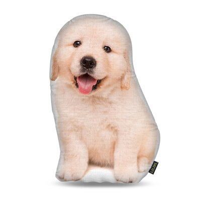 Manzella Golden Retriever Throw Pillow