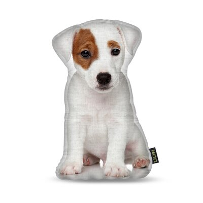 Manzella Jack Russel Throw Pillow