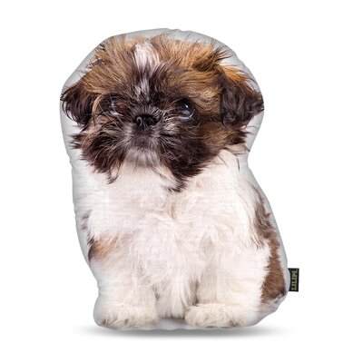 Manzella Shih Tzu Throw Pillow