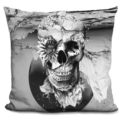 Skeleton Throw Pillow