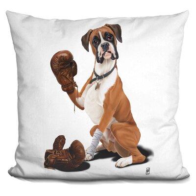 Marcantonio the Boxer Throw Pillow