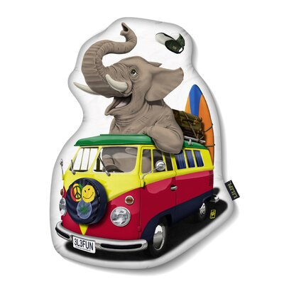 Pack The Trunk Shaped Rs Throw Pillow