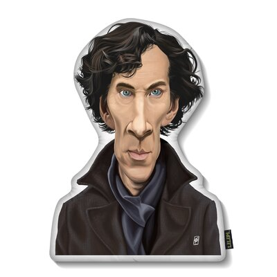 Benedict Cumberbatch Throw Pillow