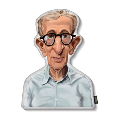 Woody Allen Throw Pillow