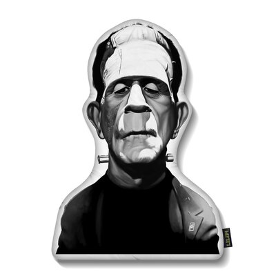 Boris Karloff Throw Pillow