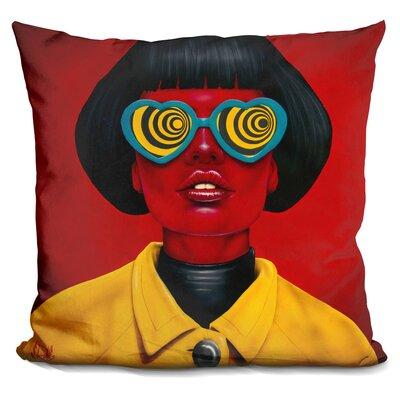 Future Funk Throw Pillow