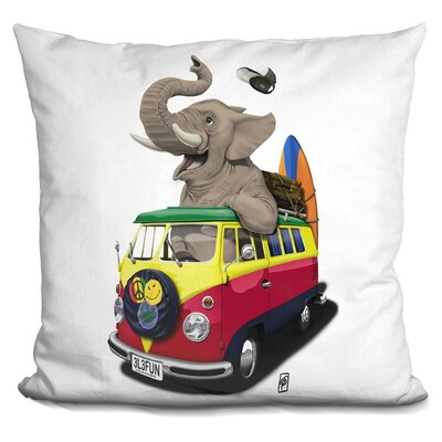 Pack the Trunk Throw Pillow