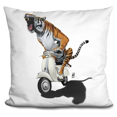 Rooooaaar Throw Pillow