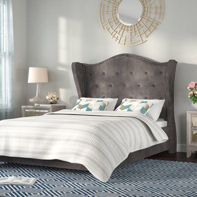 Achille Upholstered Platform Bed Size: California King