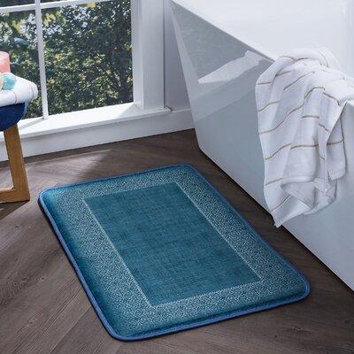 Faya Lacey Foam Core Bath Rug Size: 20 W x 30 L