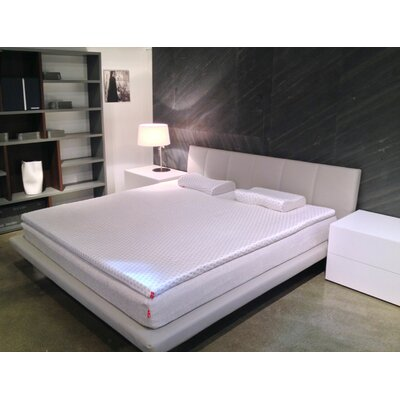 15 Memory Foam Mattress Topper Bed Size: King