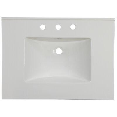 Drake 31 Single Bathroom Vanity Top Faucet Mount: 8 Centers