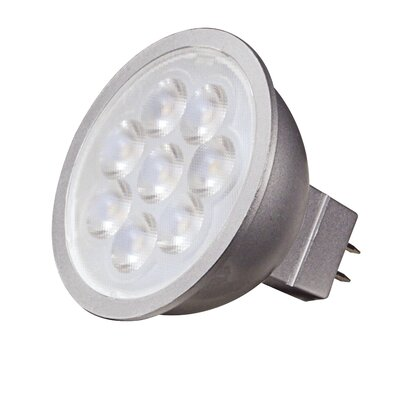 MR16 GU5.3/Bi-Pin LED Light Bulb Beam Angle: 25, Bulb Temperature: 2700K