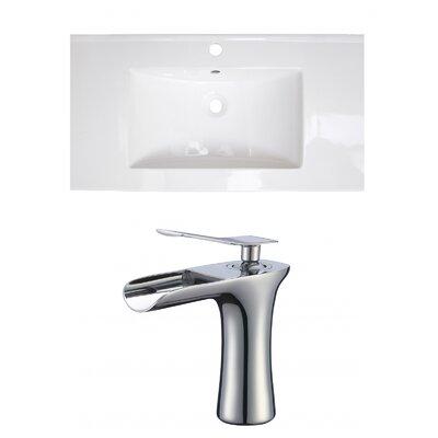 1 Hole Ceramic 32 Single Bathroom Vanity Top