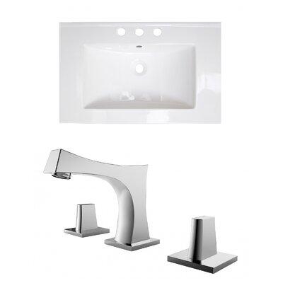 Ceramic 24 Single Bathroom Vanity Top