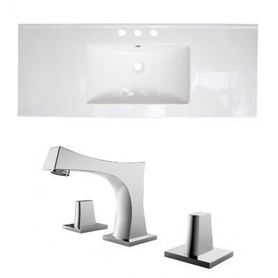 Roxy Ceramic 48 Single Bathroom Vanity Top