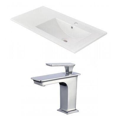 Drake 36 Single Bathroom Vanity Top