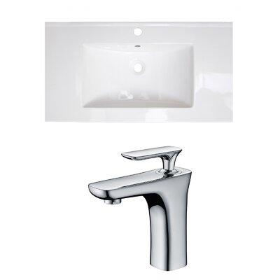Flair 37 Single Bathroom Vanity Top