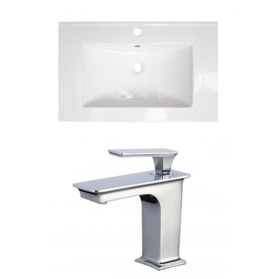 Roxy Ceramic 24 Single Bathroom Vanity Top