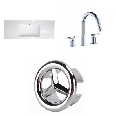 Ceramic 40 Single Bathroom Vanity Top