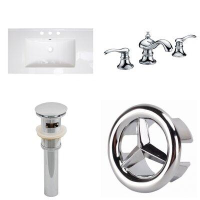 Roxy 32 Single Bathroom Vanity Top and Overflow Drain
