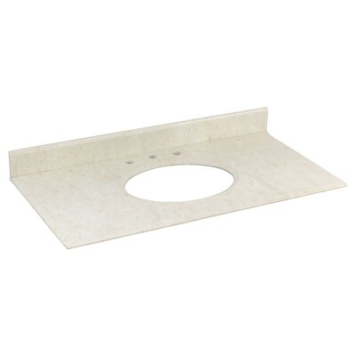 Juliet Marble 44 Single Bathroom Vanity Top