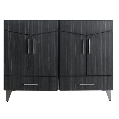 Zen 48 Double Bathroom Vanity Base