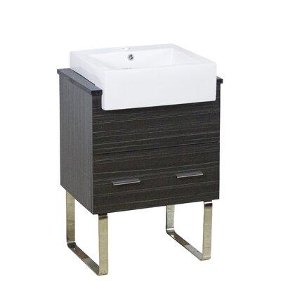 Xena Farmhouse Modern 23 Single Bathroom Vanity Base