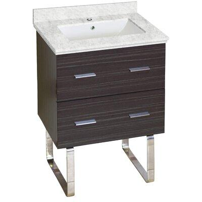 Xena Modern 23 Single Bathroom Vanity Base Base Finish: Dawn Gray