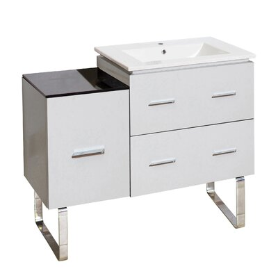 Xena Modern 33 Single Bathroom Vanity Base