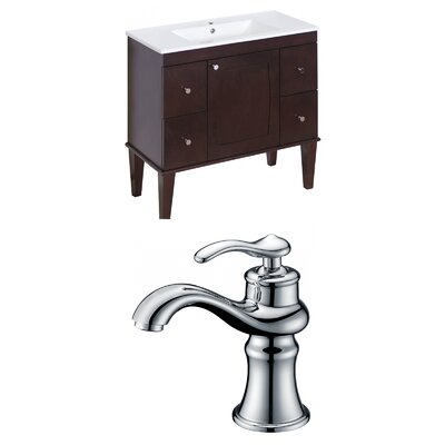 Harrop 36 Single Bathroom Vanity Set