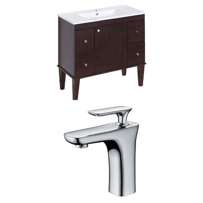 Harrop 36 Single Bathroom Vanity Set