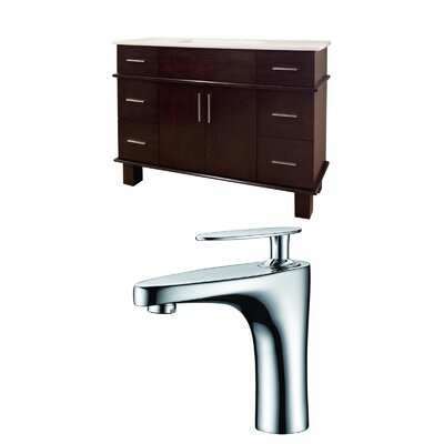 Heideman 48 Single Bathroom Vanity Set
