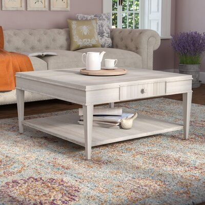 Carrie Square Coffee Table Color: Light Oak