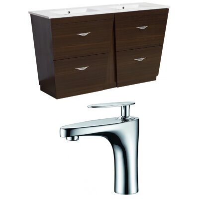 Dudelange 48 Double Bathroom Vanity Set