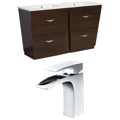 Dudelange 48 Double Bathroom Vanity Set