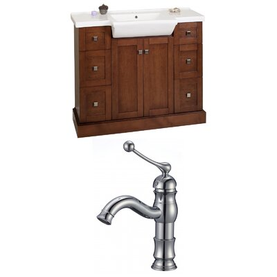 Rizzo 40 Single Bathroom Vanity Set