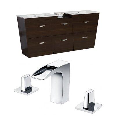 Dudelange 62 Double Bathroom Vanity Set