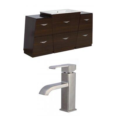 Dudelange 53 Single Bathroom Vanity Set